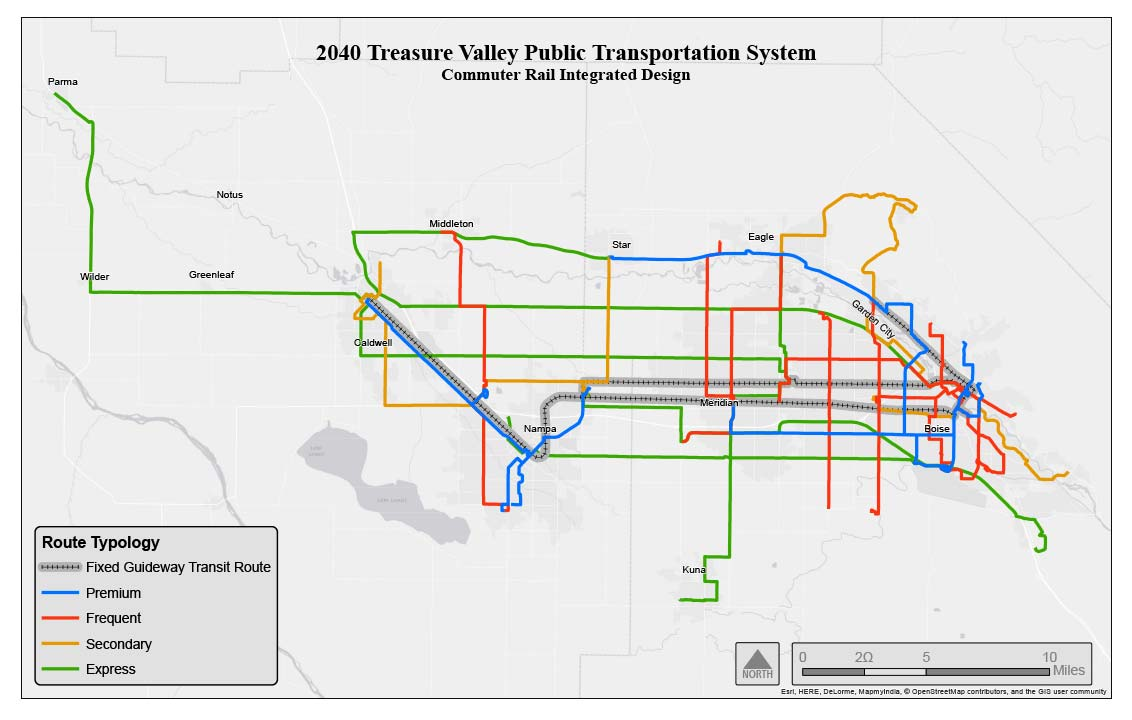 public transportation system map