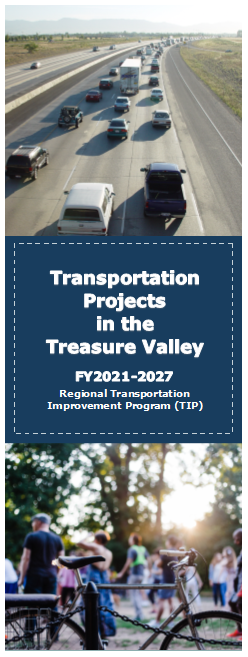 Image of Transportation Projects in the Treasure Valley Brochure